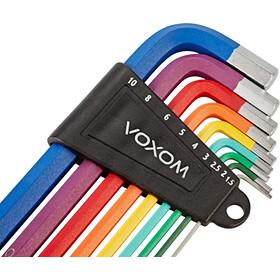 Voxom WKl17 Sechskantschlüssel Set bunt
